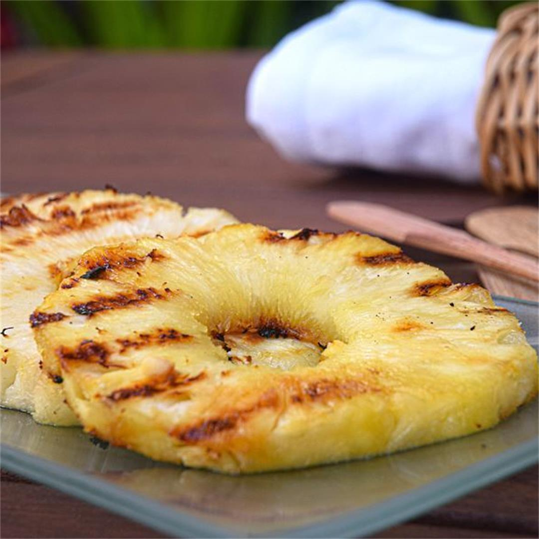 How to Grill Pineapple Slices