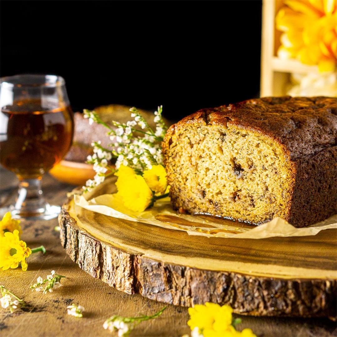 Maple-Bourbon Banana Bread