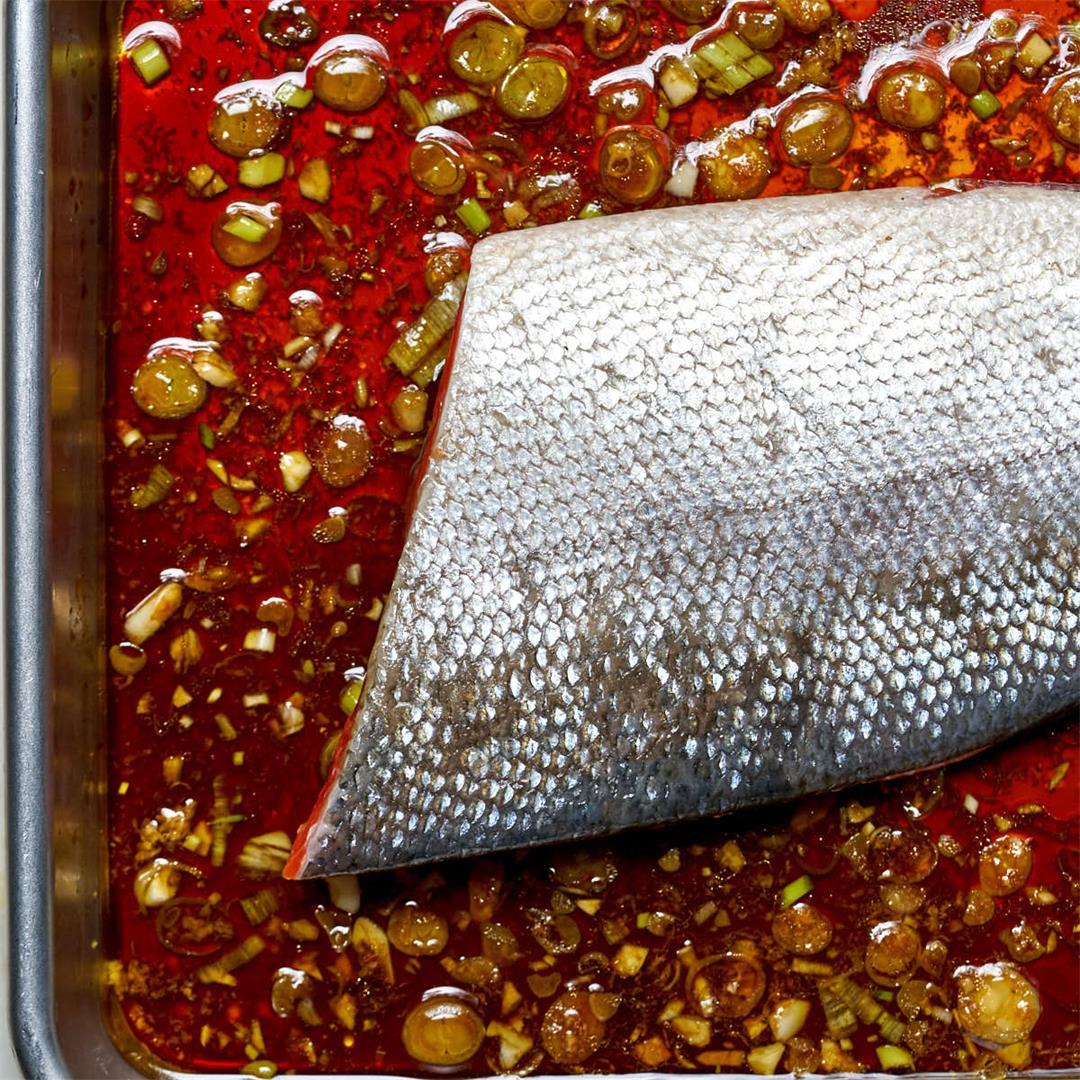 Teriyaki Style Sockeye Salmon