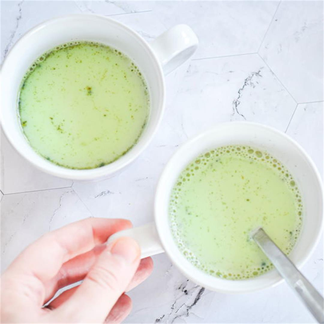 Homemade Vegan Matcha Latte Mix
