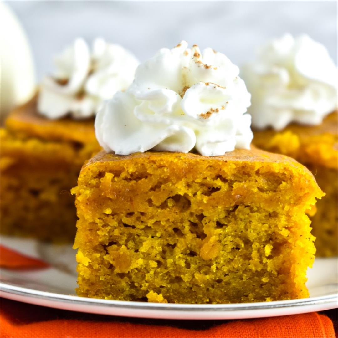 Easy Pumpkin Spice Bars
