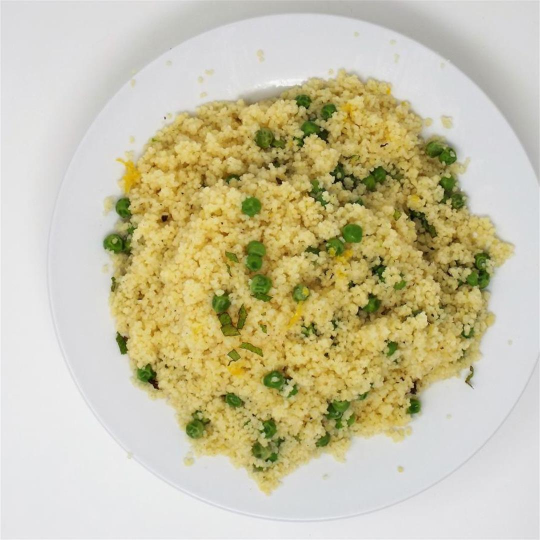 Pea and Mint Couscous