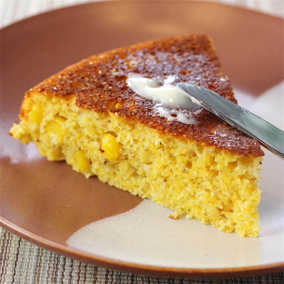 Cornbread with a surprise ingredient