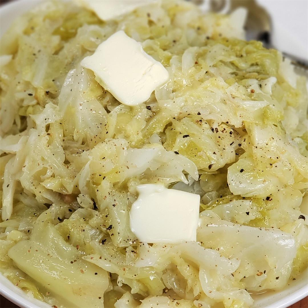 Low Carb Instant Pot Buttered Cabbage [Recipe + Video]