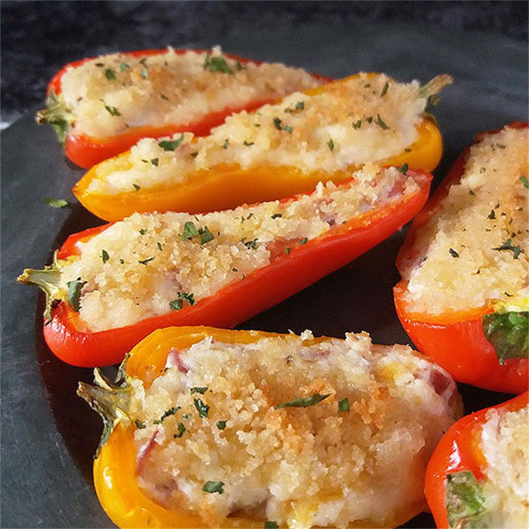 Baby Bell Pepper Poppers