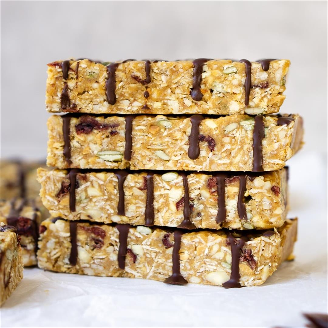 No-Bake Peanut Butter Muesli Bars
