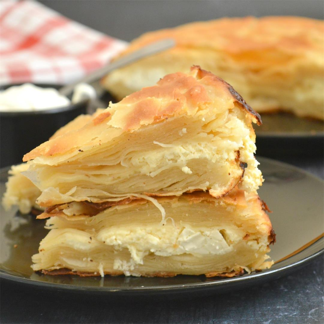Feta Pie with Homemade Filo Pastry — Tasty Food for Busy Mums