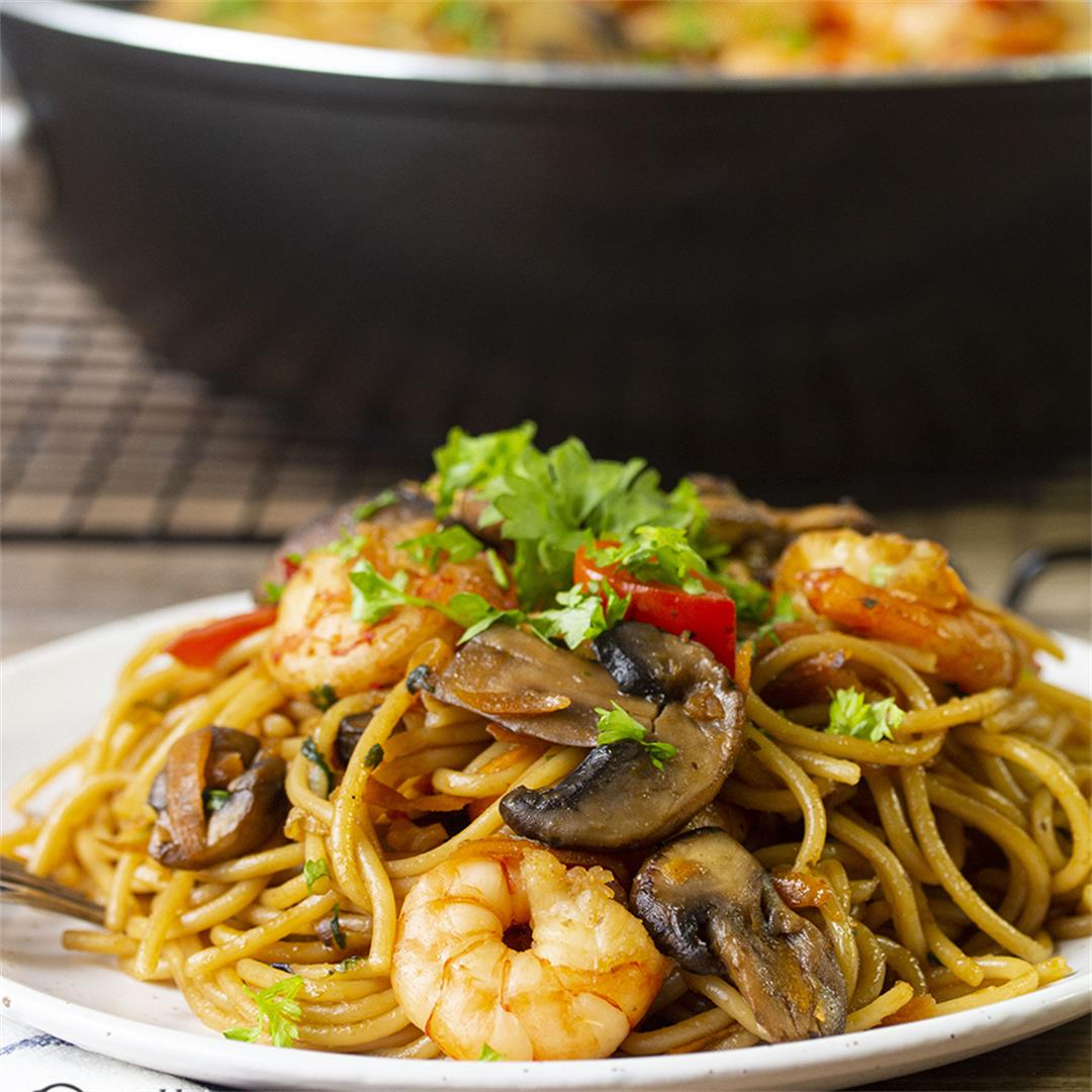 Shrimp Pasta Recipe-Healthy life Trainer