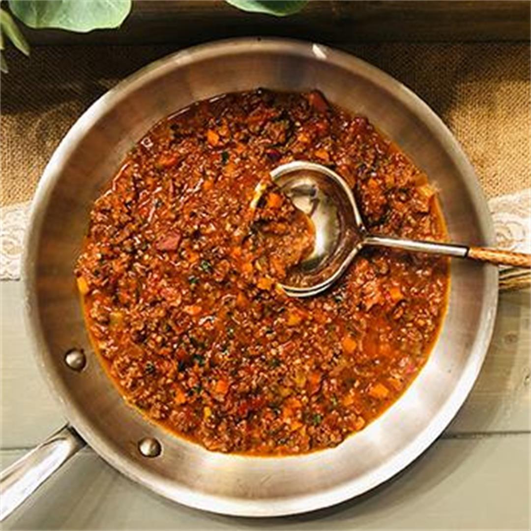 Fullblood Wagyu Beef Bolognese
