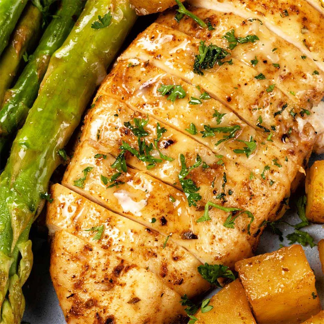 Healthy Baked Chicken Breast Recipe