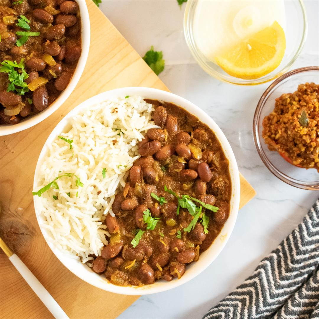 One-pot 30 minutes Rajma masala (Kidney beans curry)