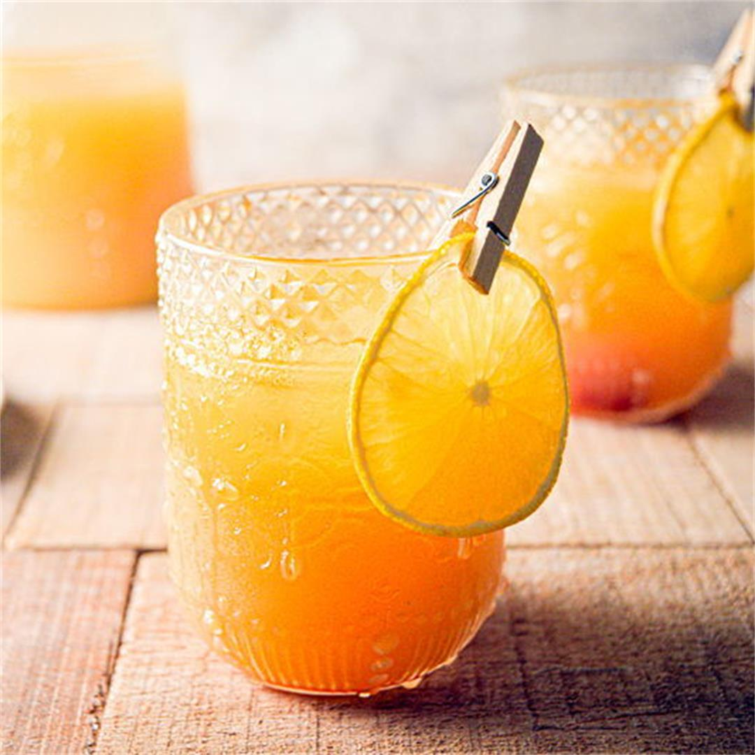 Fall Pumpkin Party Punch