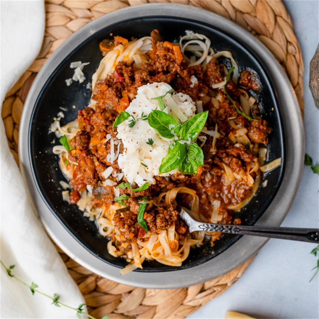 Lamb and Mushroom Ragu (Slow Cooker)