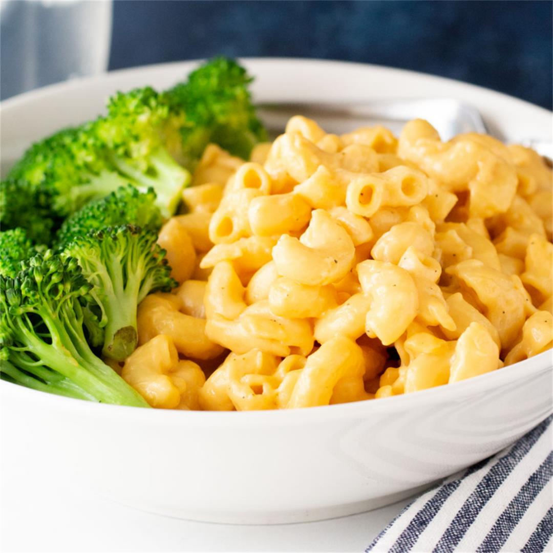 Healthy Homemade Mac & Cheese