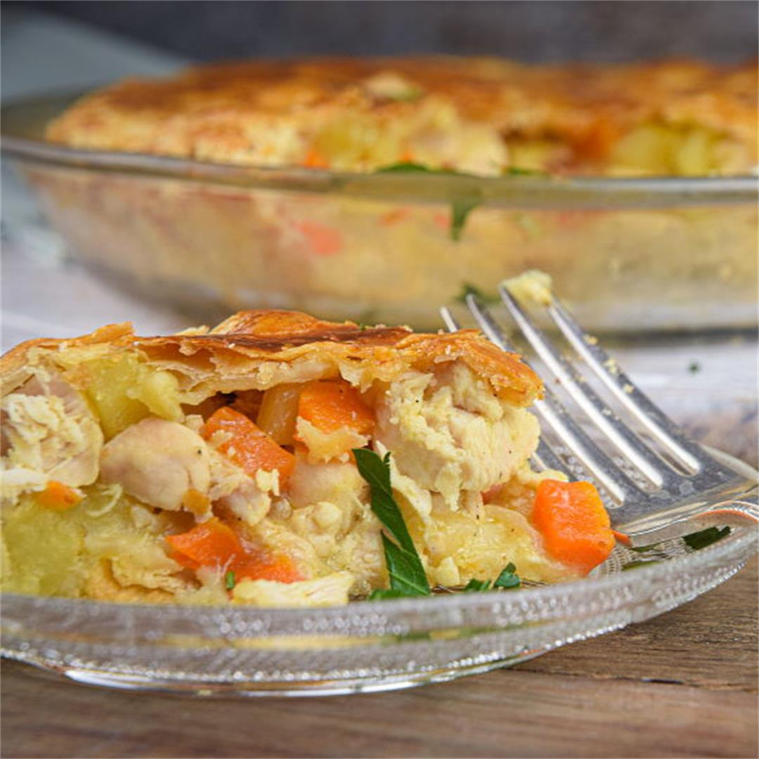 Chicken Pasty Pie