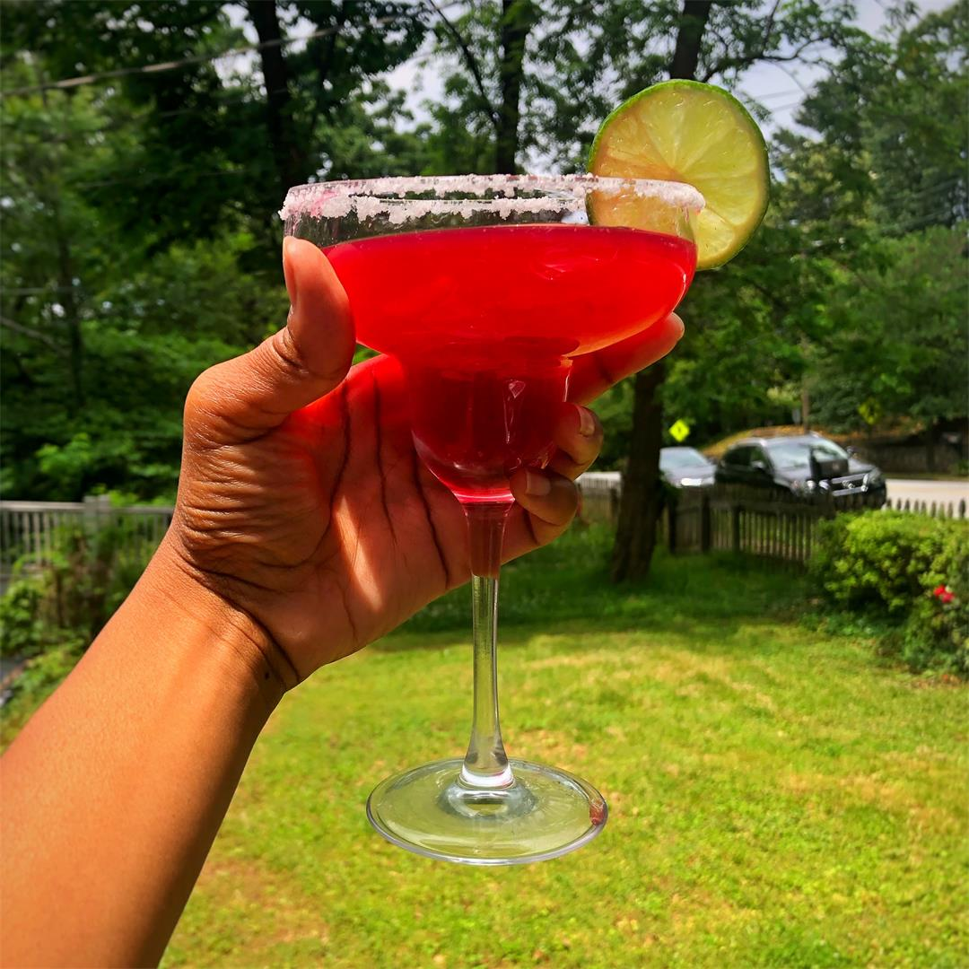 Spicy Blood Orange Margarita