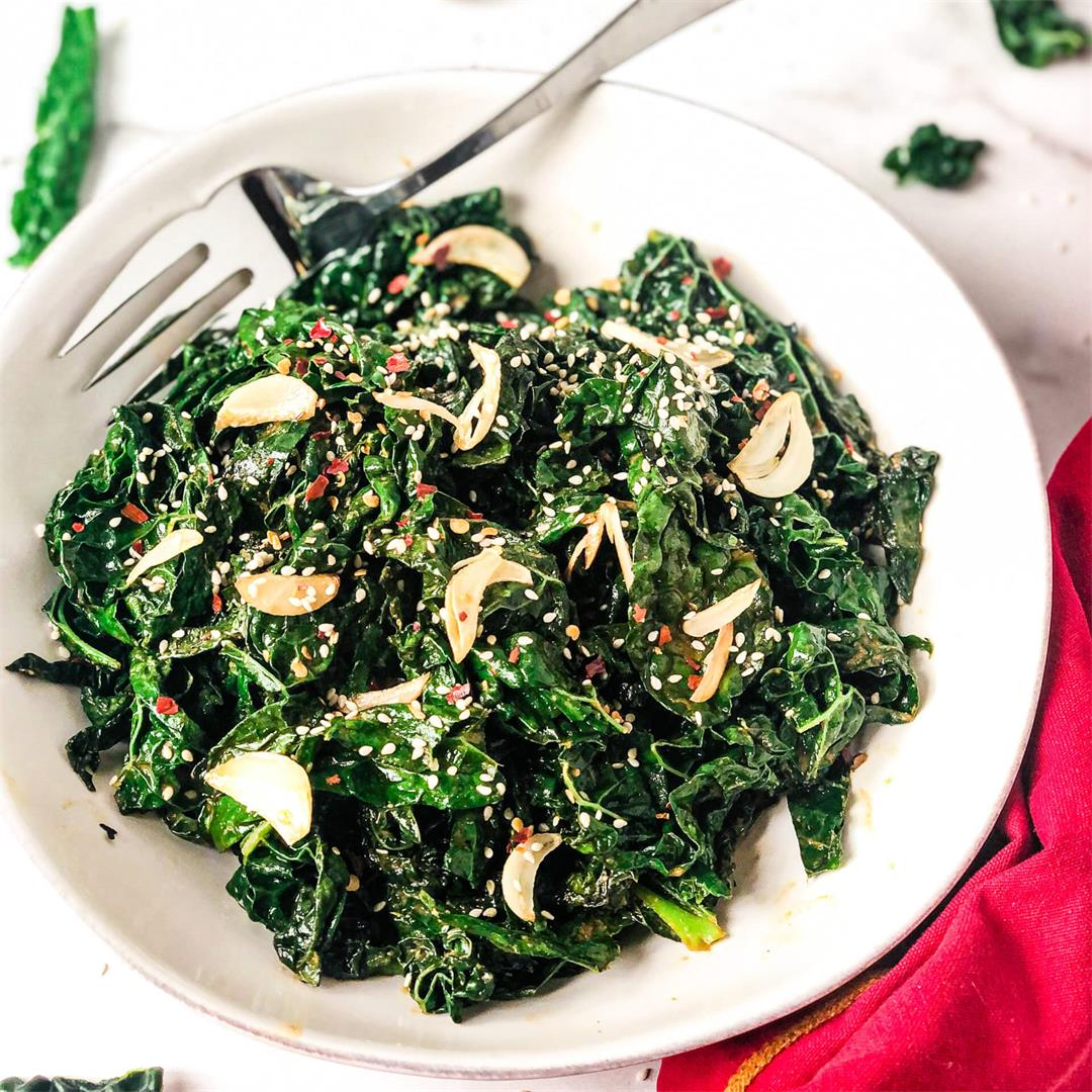 Easy Smoky Kale
