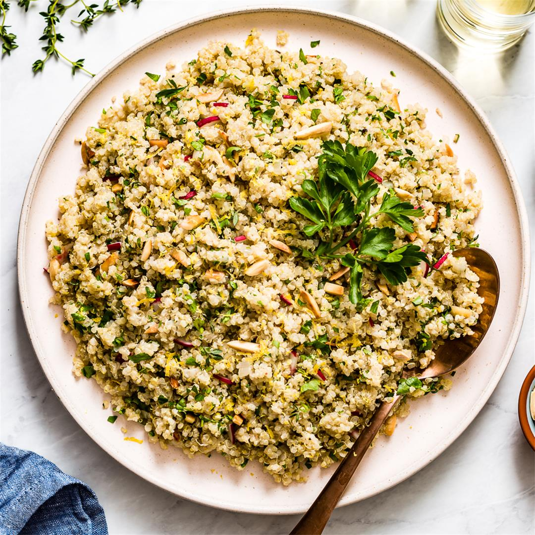 Lemon and Herb Quinoa Recipe
