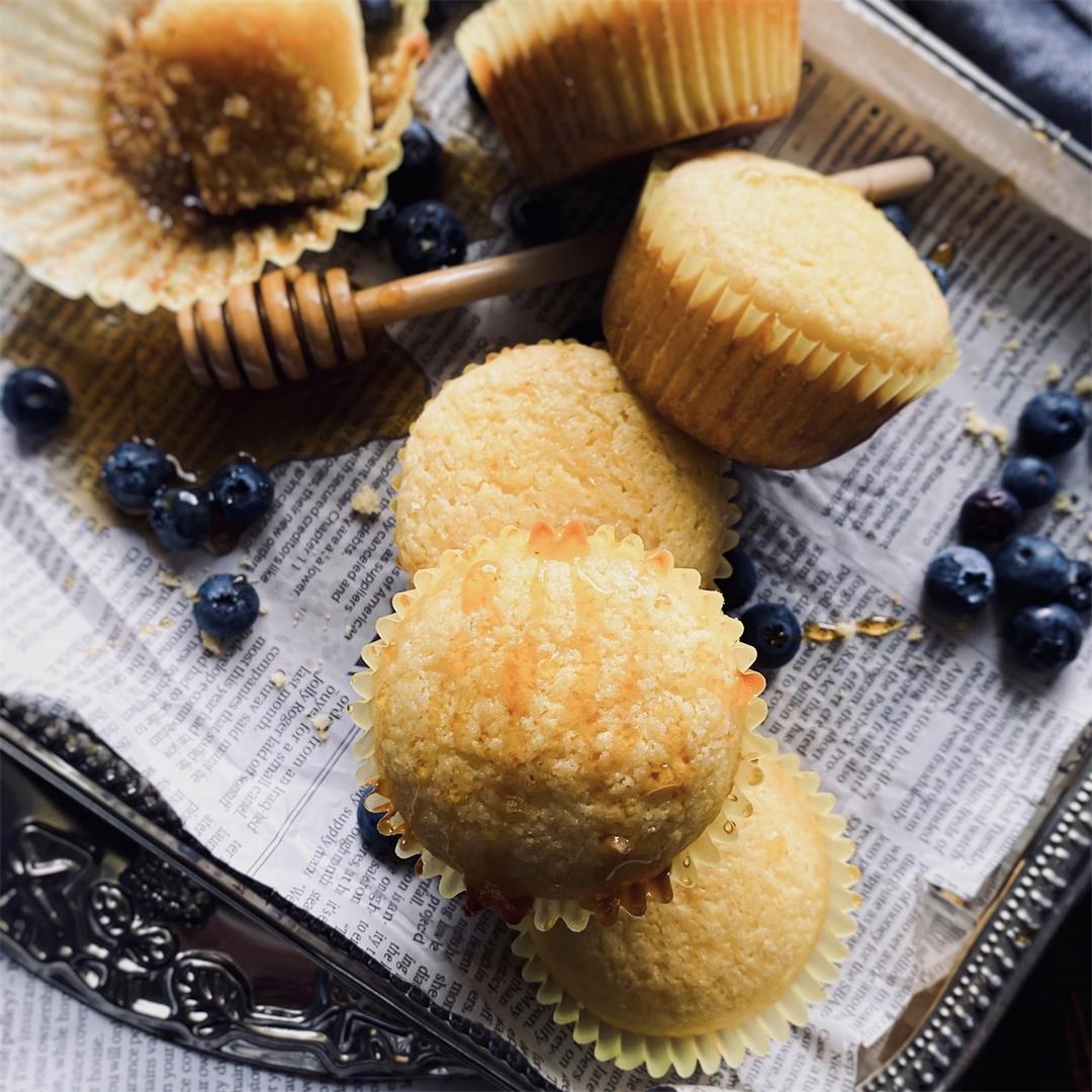 Soft Buttermilk Corn Muffins