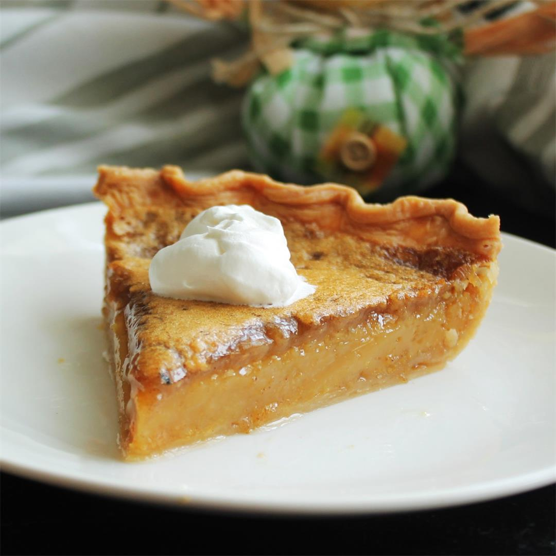 Maple-Browned Butter Pie