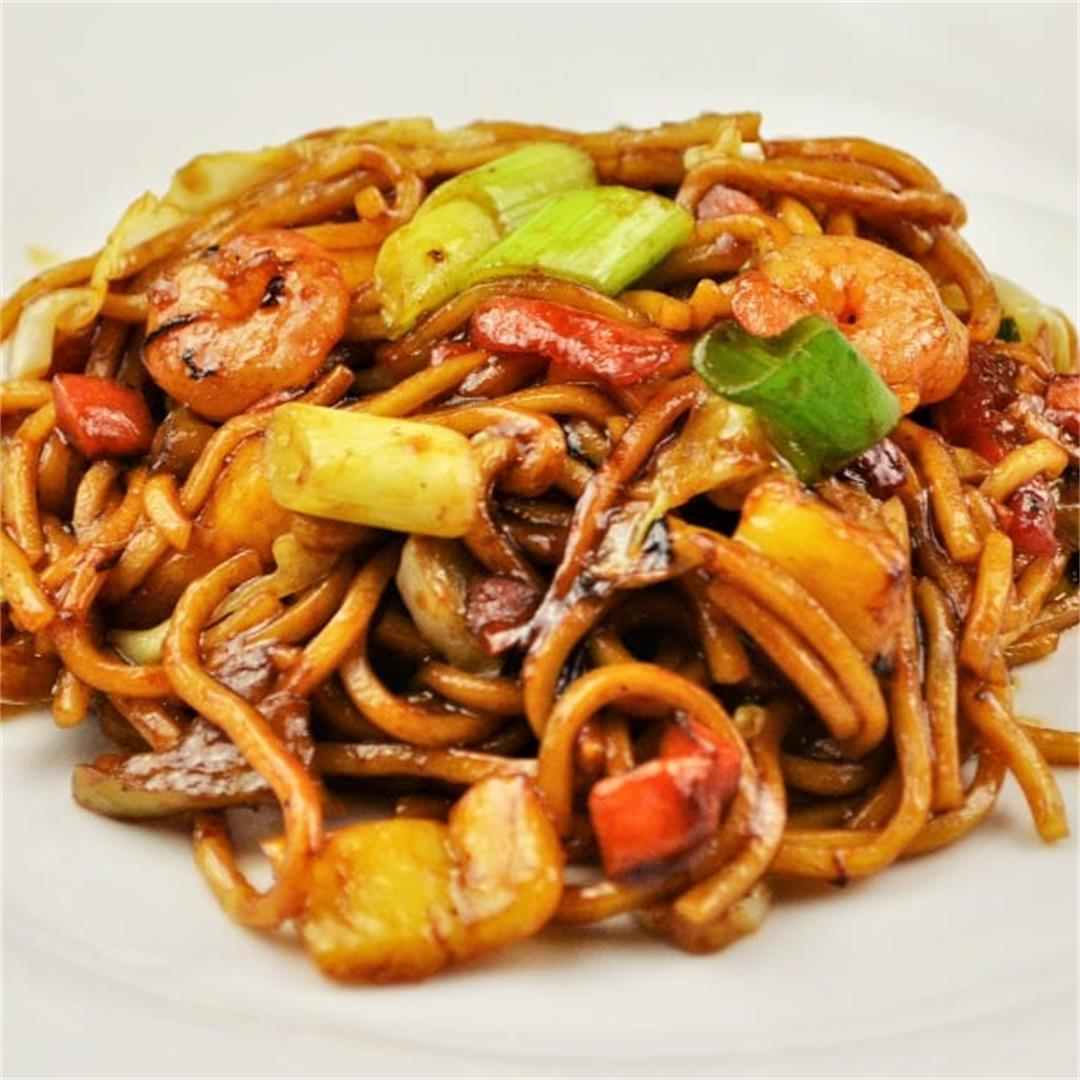 King Prawn Noodles Recipe