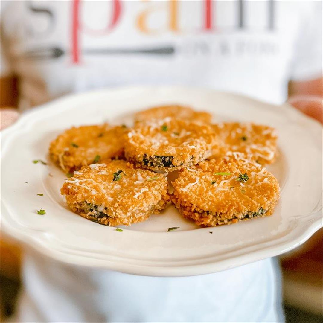 The Best Zucchini Recipe Ever | Crispy Zucchini Bites