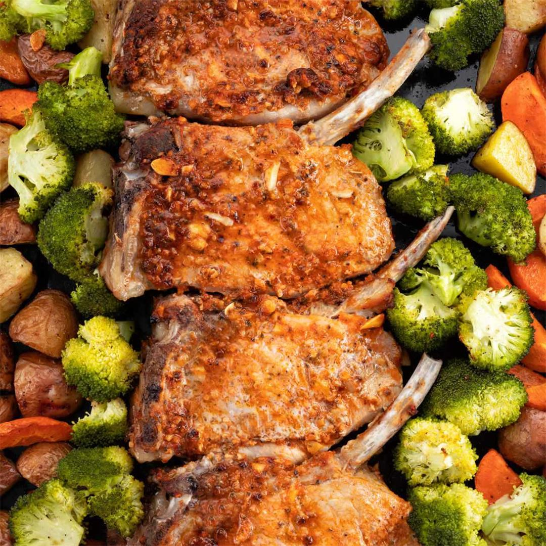 Healthy Baked Pork Chops Recipe