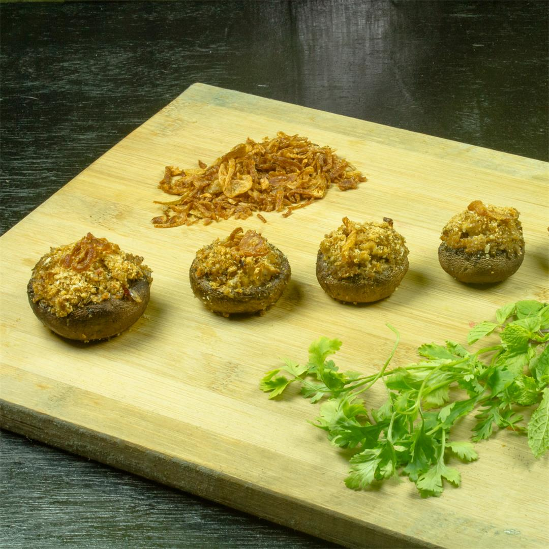Stuffed Portobello Mushroom Recipe – Food Opium