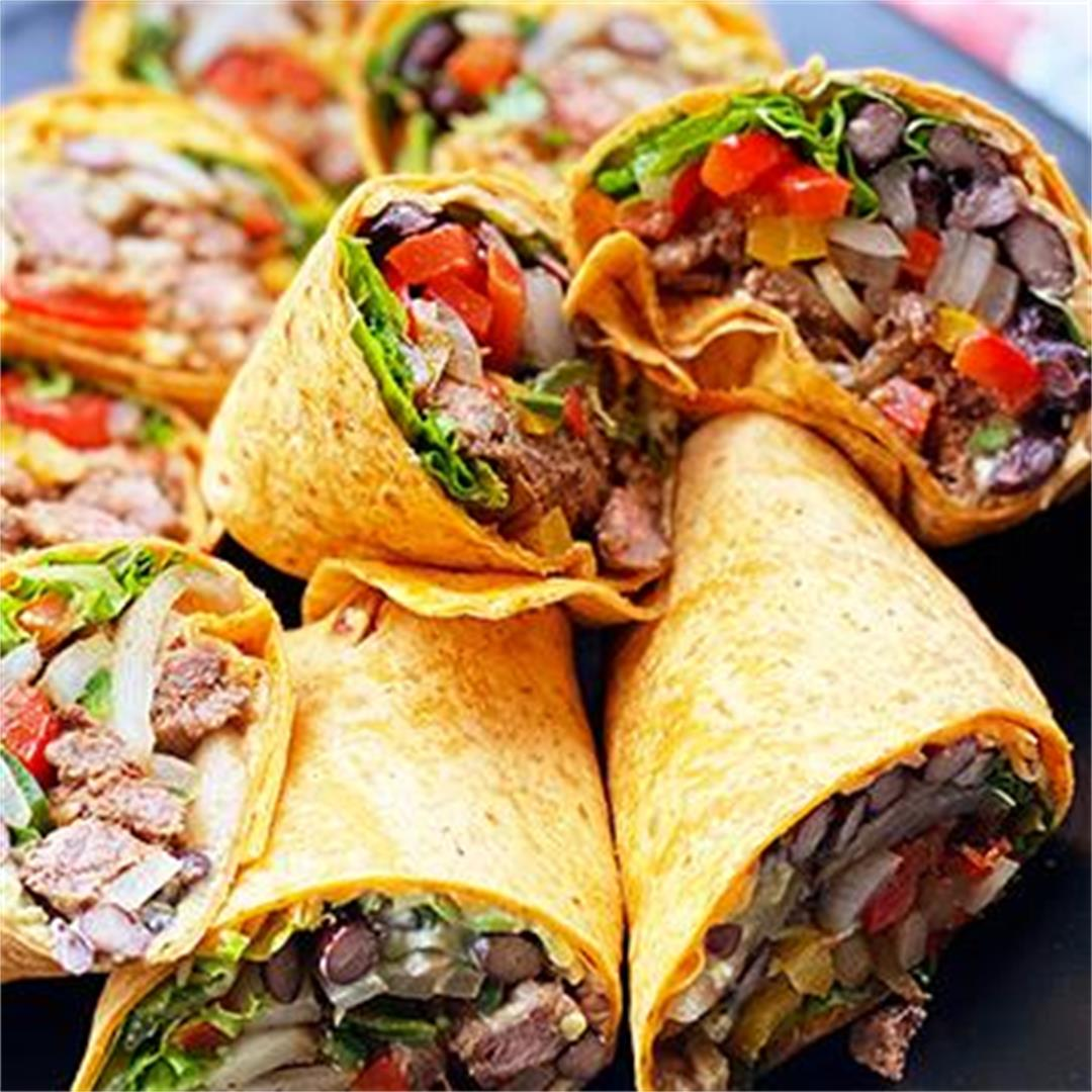 Fullblood Wagyu Steak Fajita Wraps