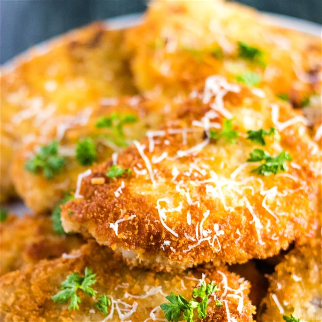 Pork Schnitzel Recipe (step-by-step instructions)