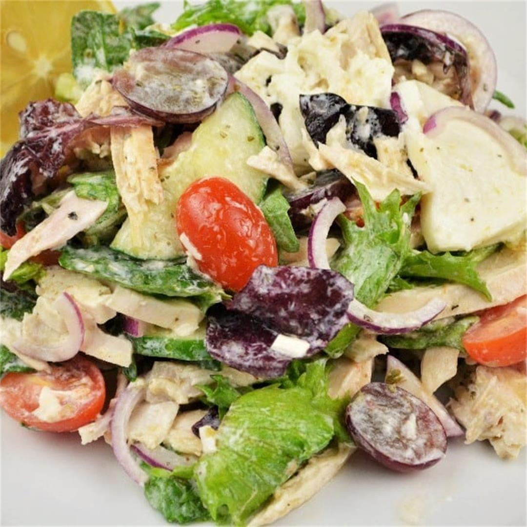 Best Homemade Chicken Salad Recipe-In Mediterranean Style