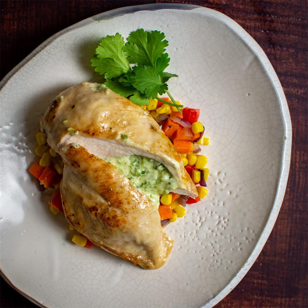 Jalapeno Popper Style Chicken
