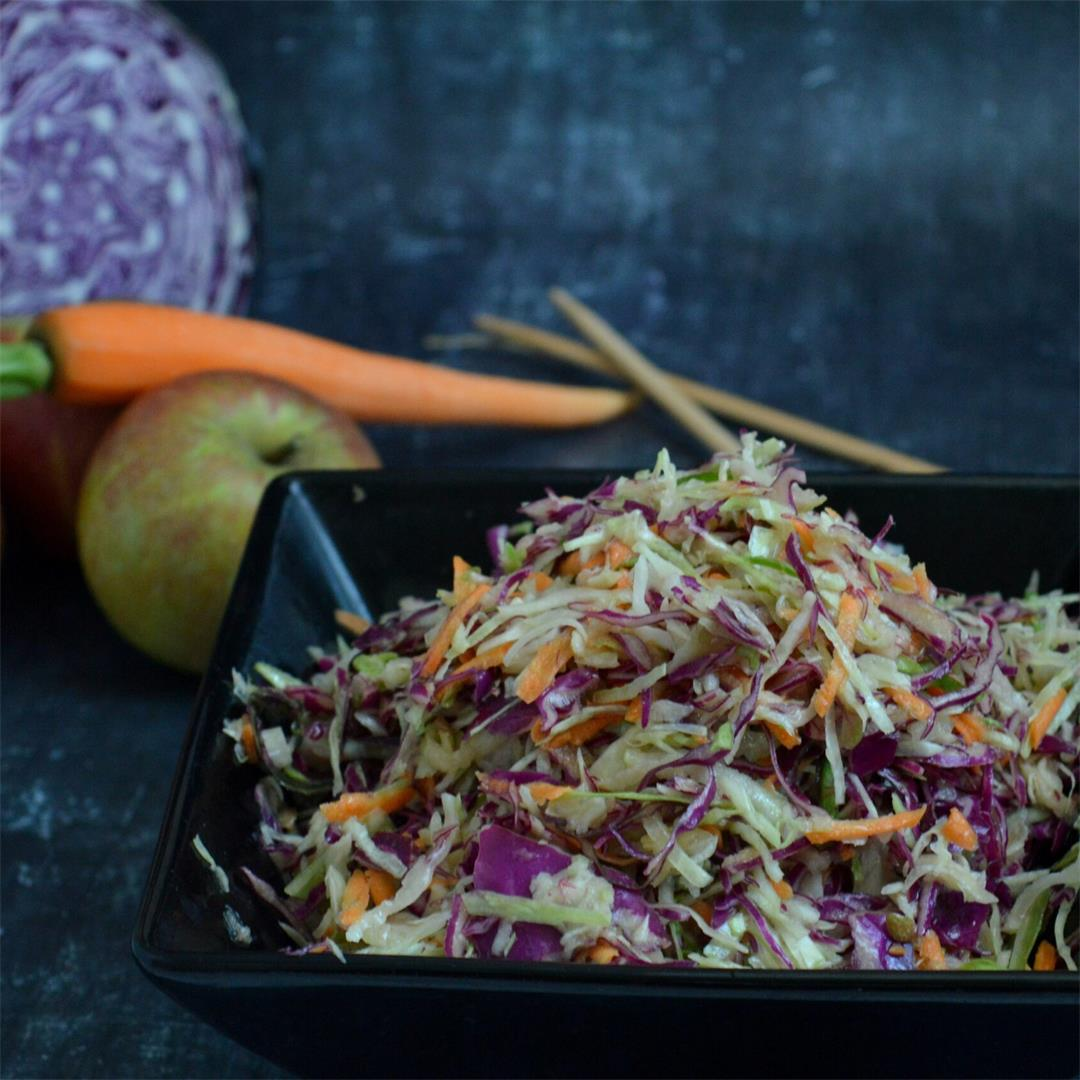 Crunchy Apple & Cabbage Slaw — Tasty Food for Busy Mums