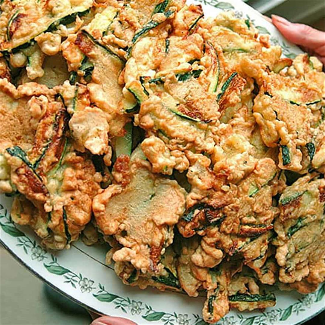 Italian Zucchini Fritters Recipe