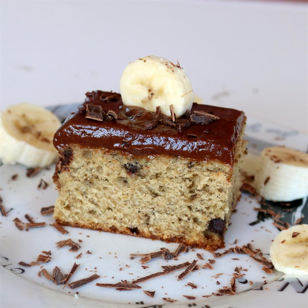 Banana Cake Recipe Nutella Addiction Joy