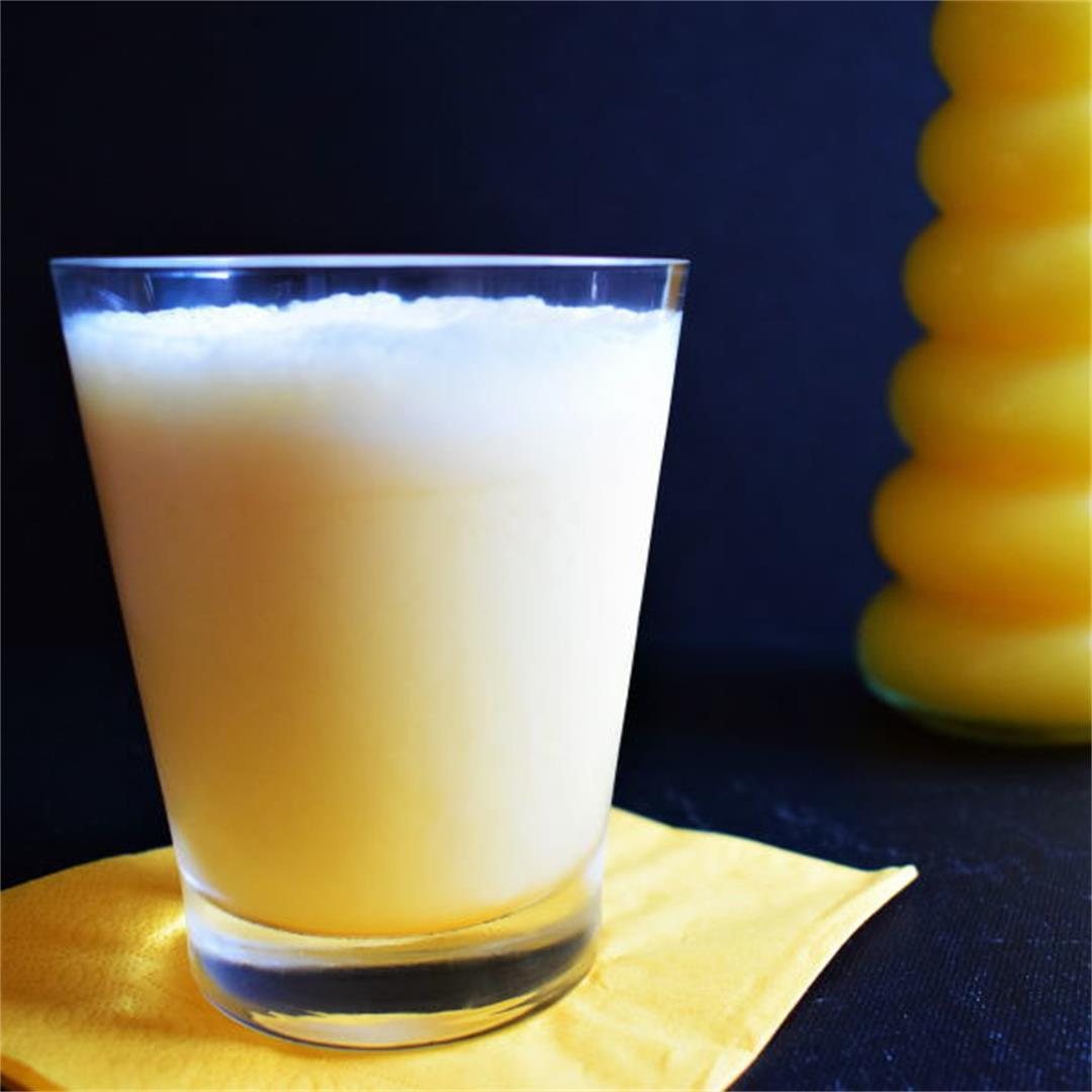 Homemade Orange Julius Recipe (Copycat) with Ice Cream