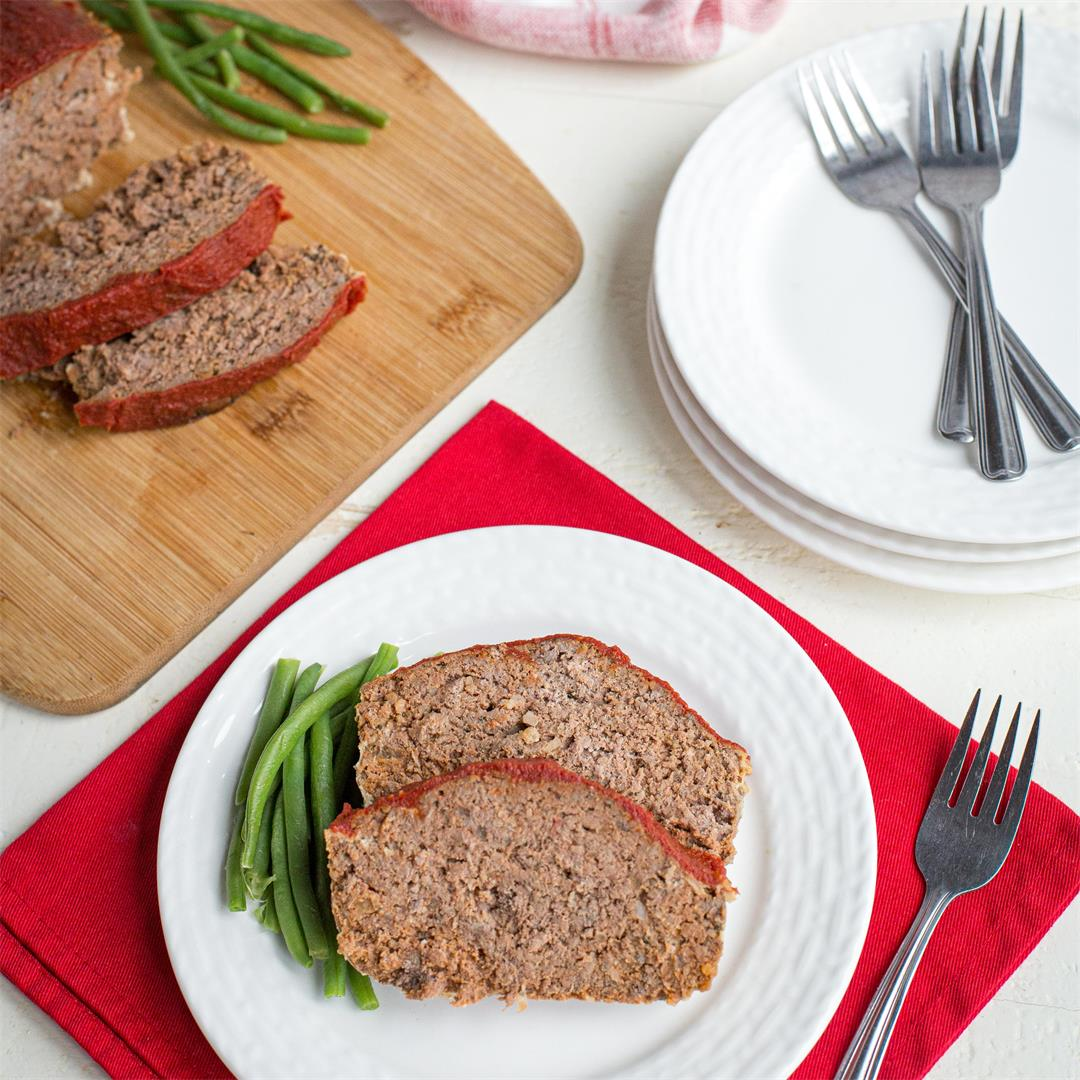 Low-Carb Keto Meatloaf Recipe