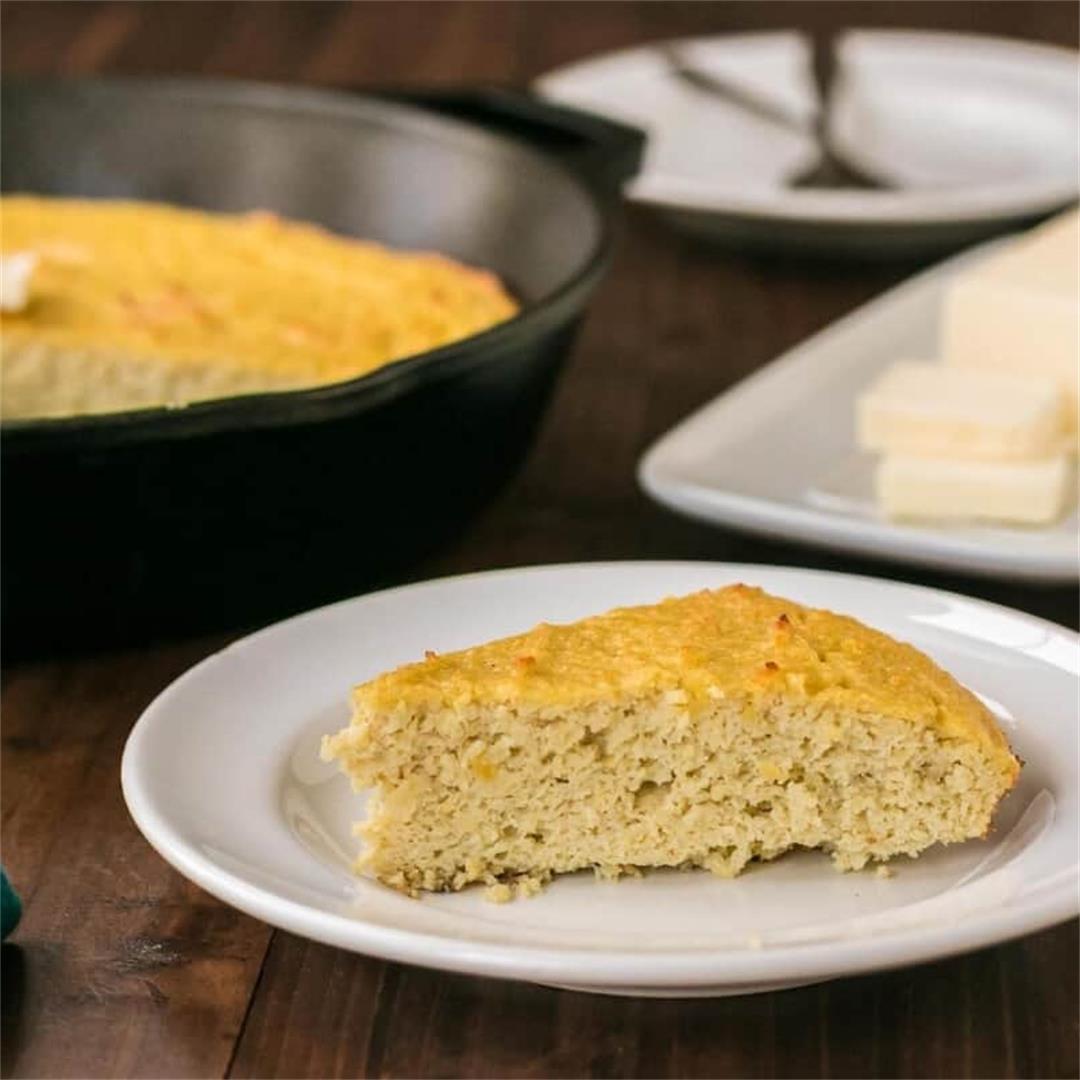 Coconut Flour Keto Cornbread Recipe