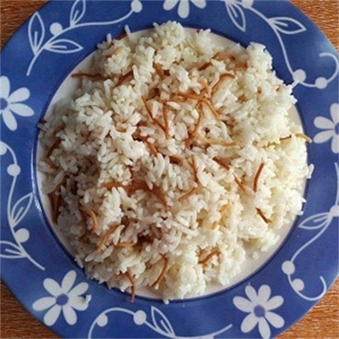 Lebanese Vermicelli Rice Recipe
