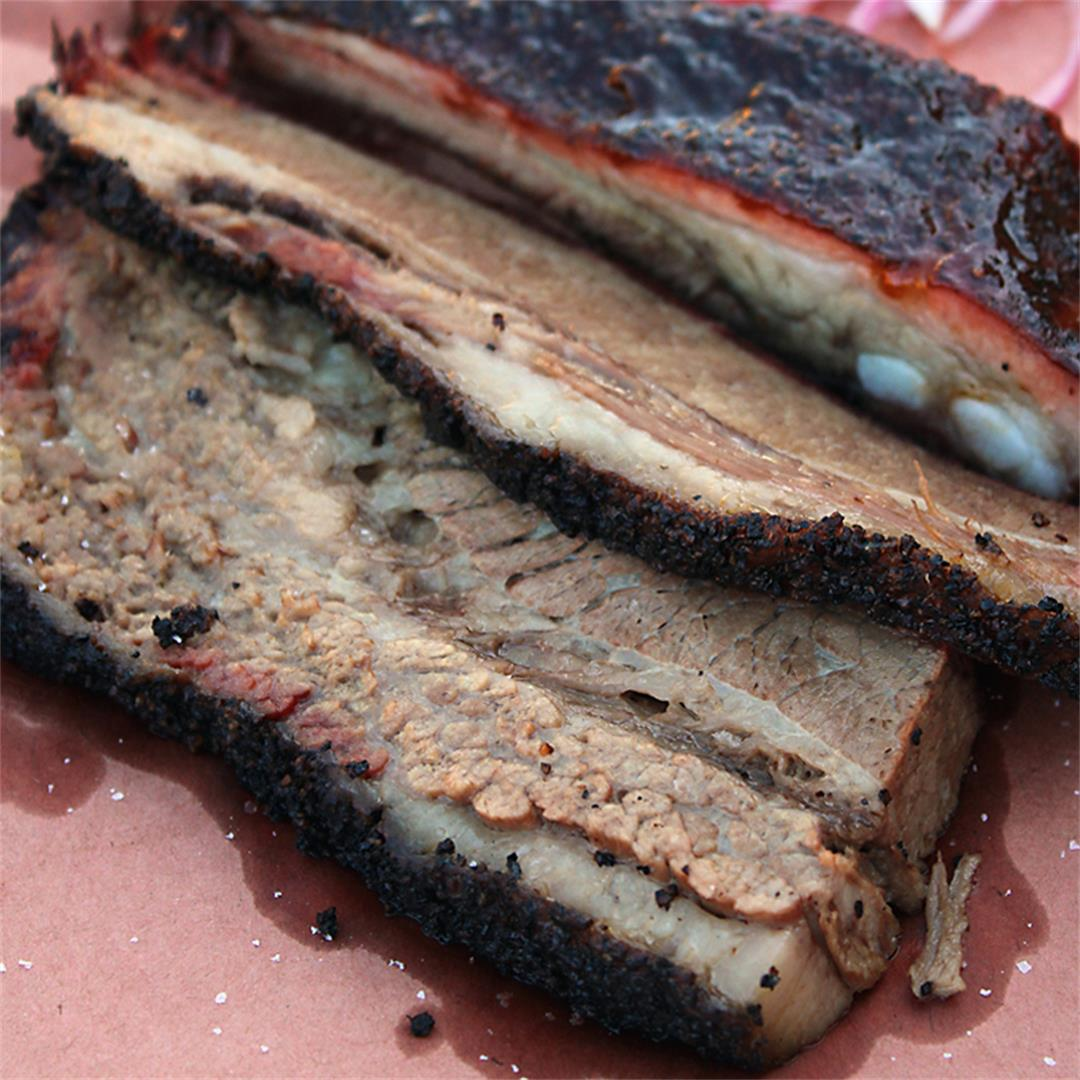 The best brisket -- smoked for nearly 16 hours