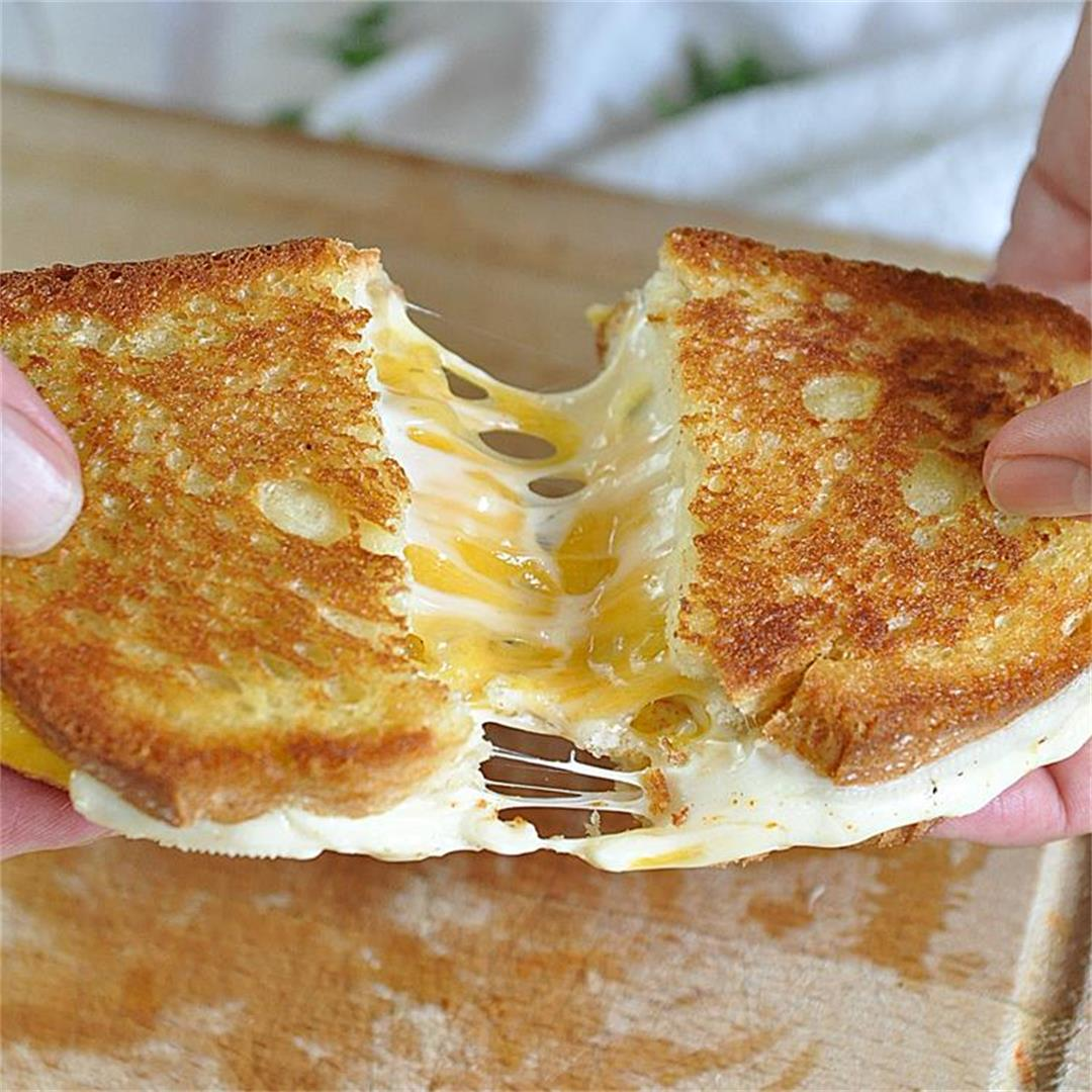 The Greatest Grilled Cheese Sandwich | Version 2.0