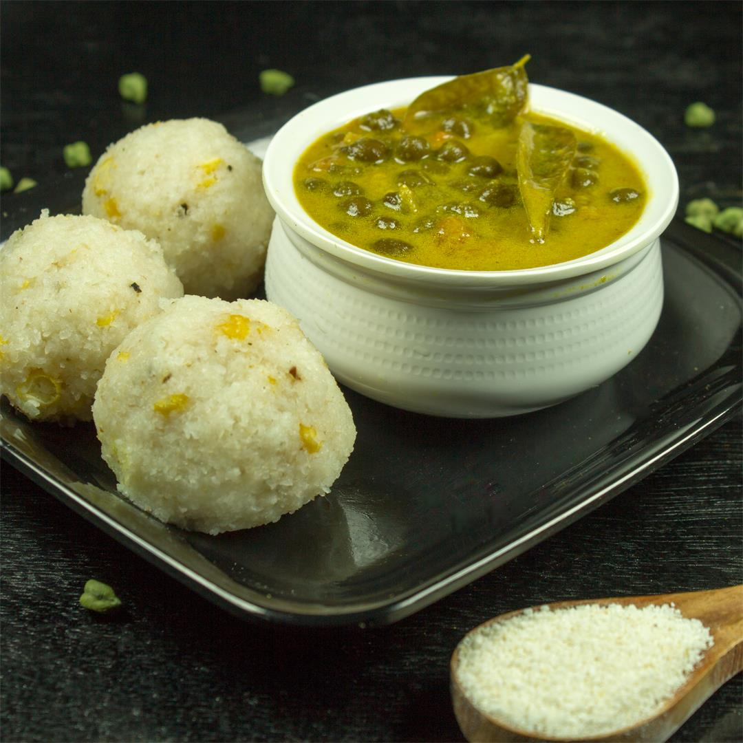 Rice Balls with Chickpeas (Brown) Curry – Food Opium