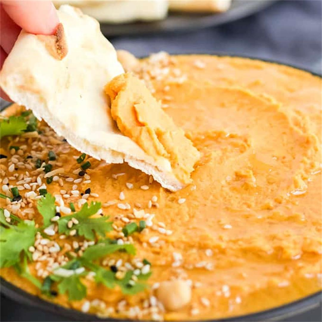 Amazing Pumpkin Hummus