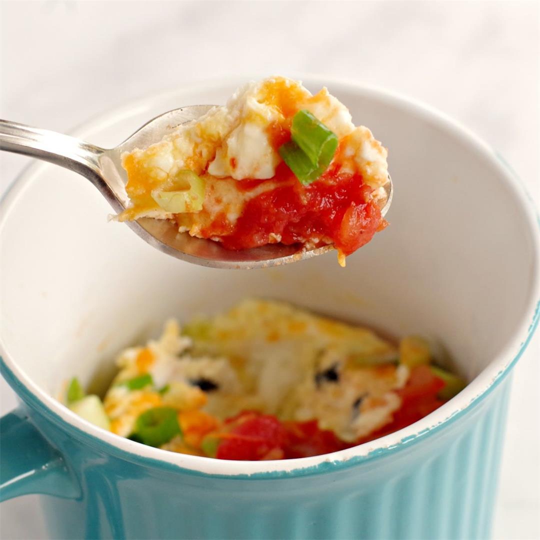 Mug Omelette