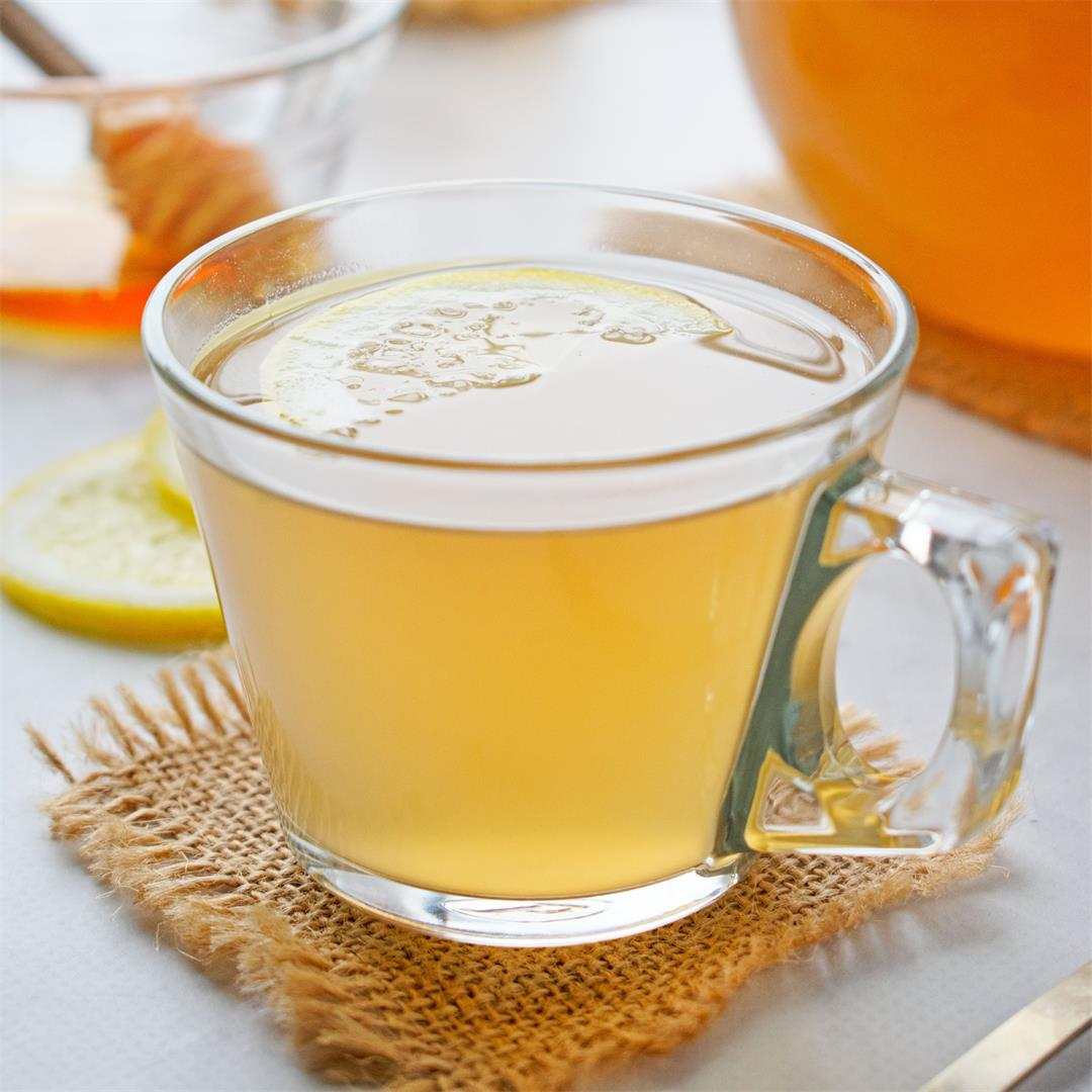 Soothing Ginger and Cinnamon Tea