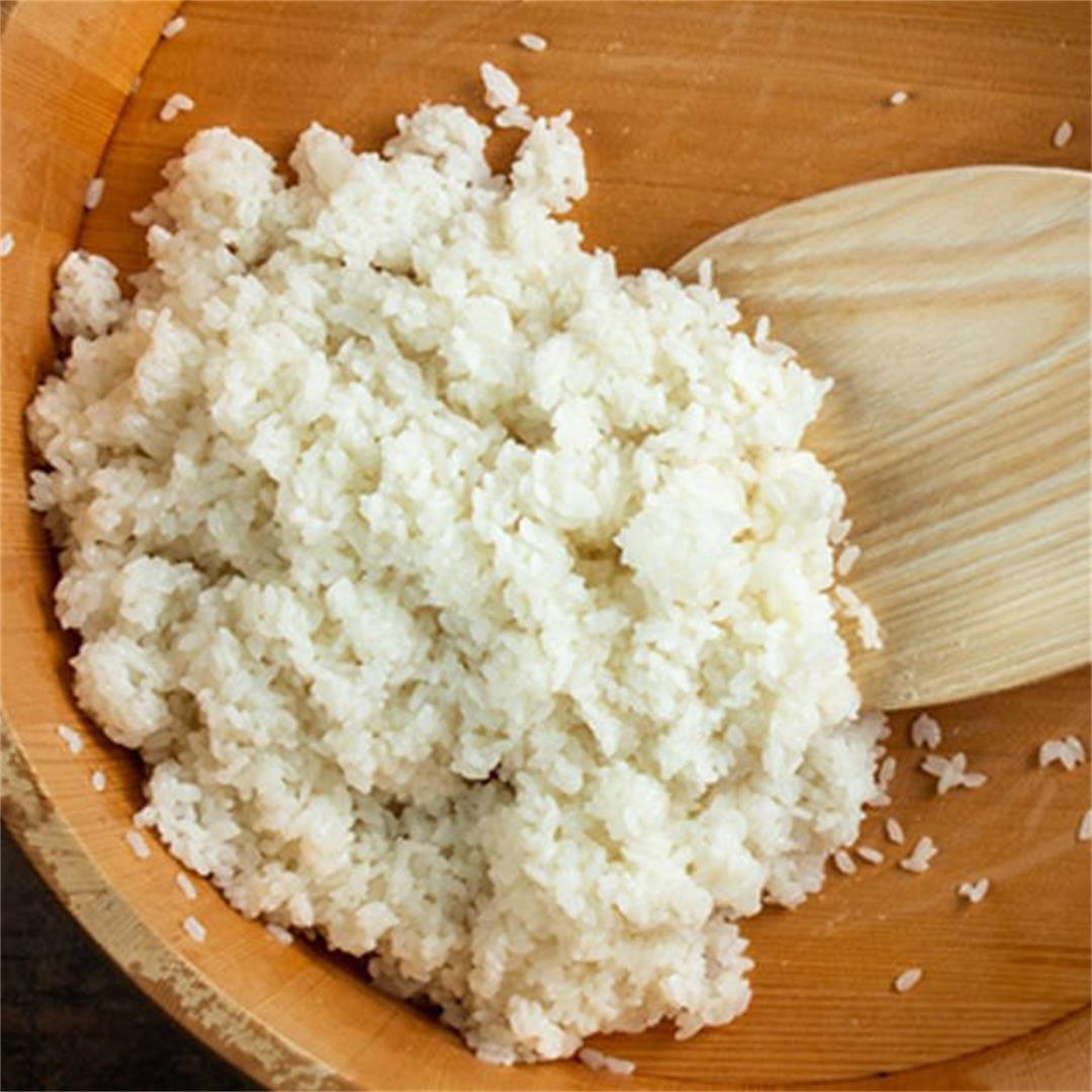 Best Instant Pot Sushi Rice