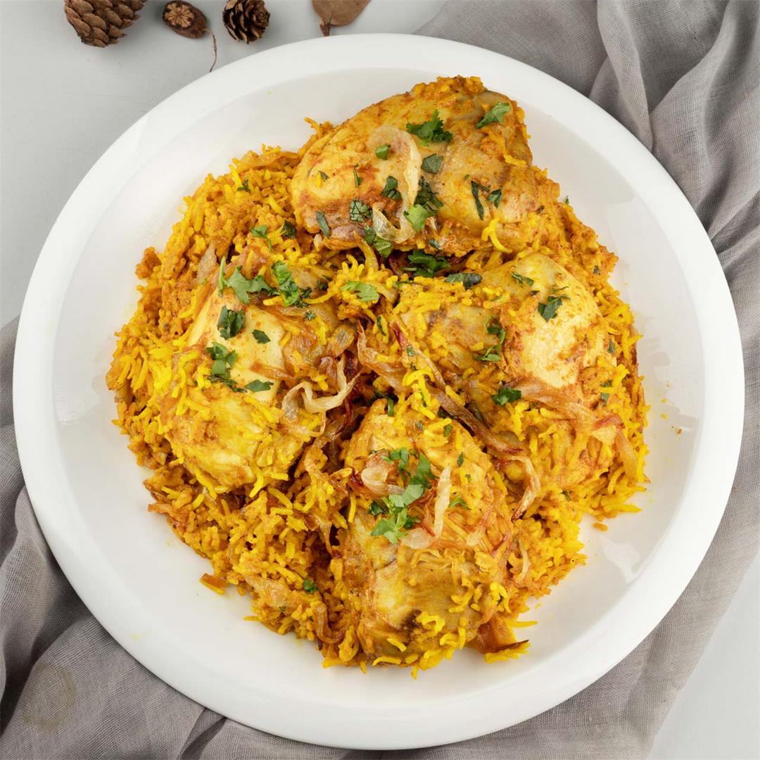 Healthy Chicken Biryani Recipe