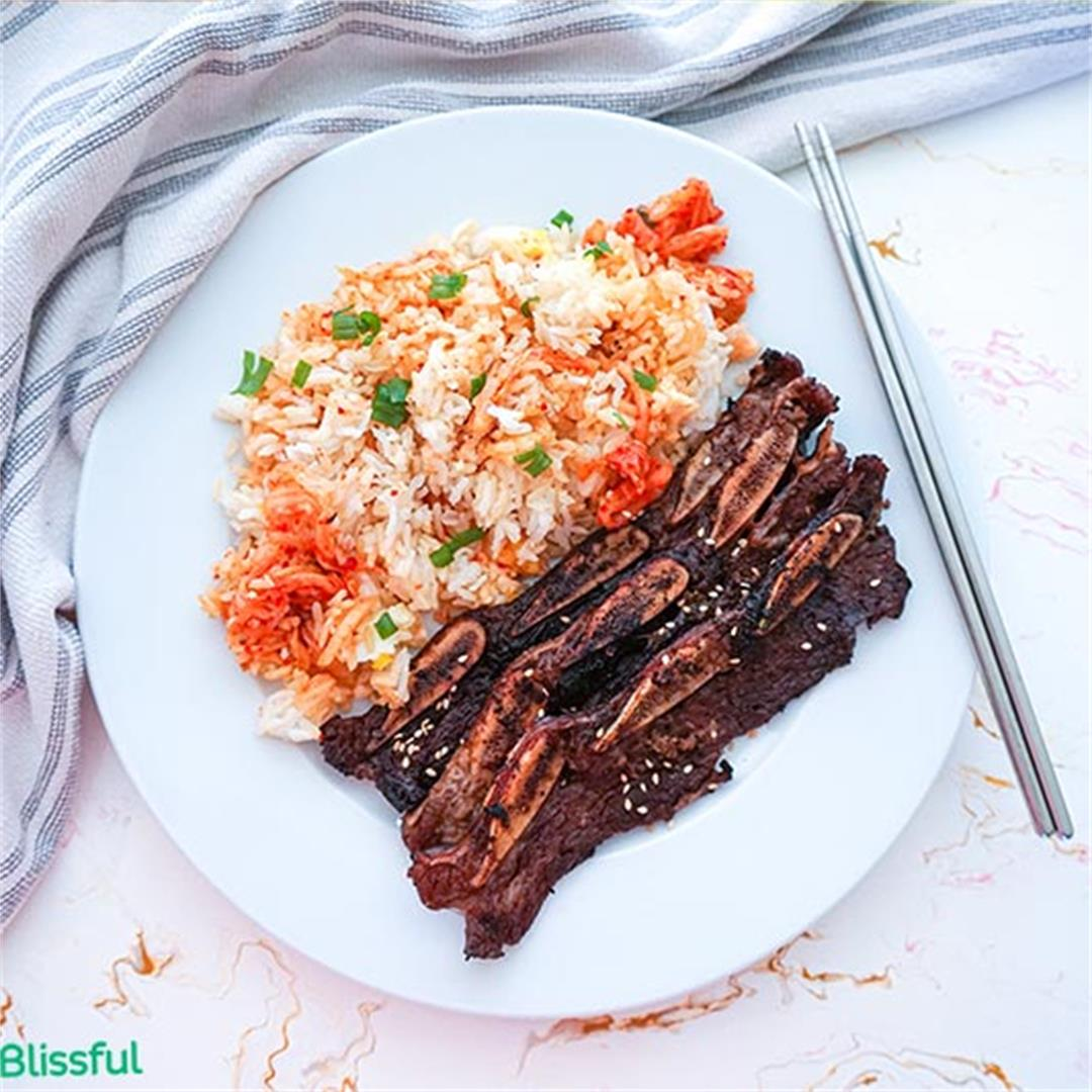 Korean Kalbi BBQ Short Ribs