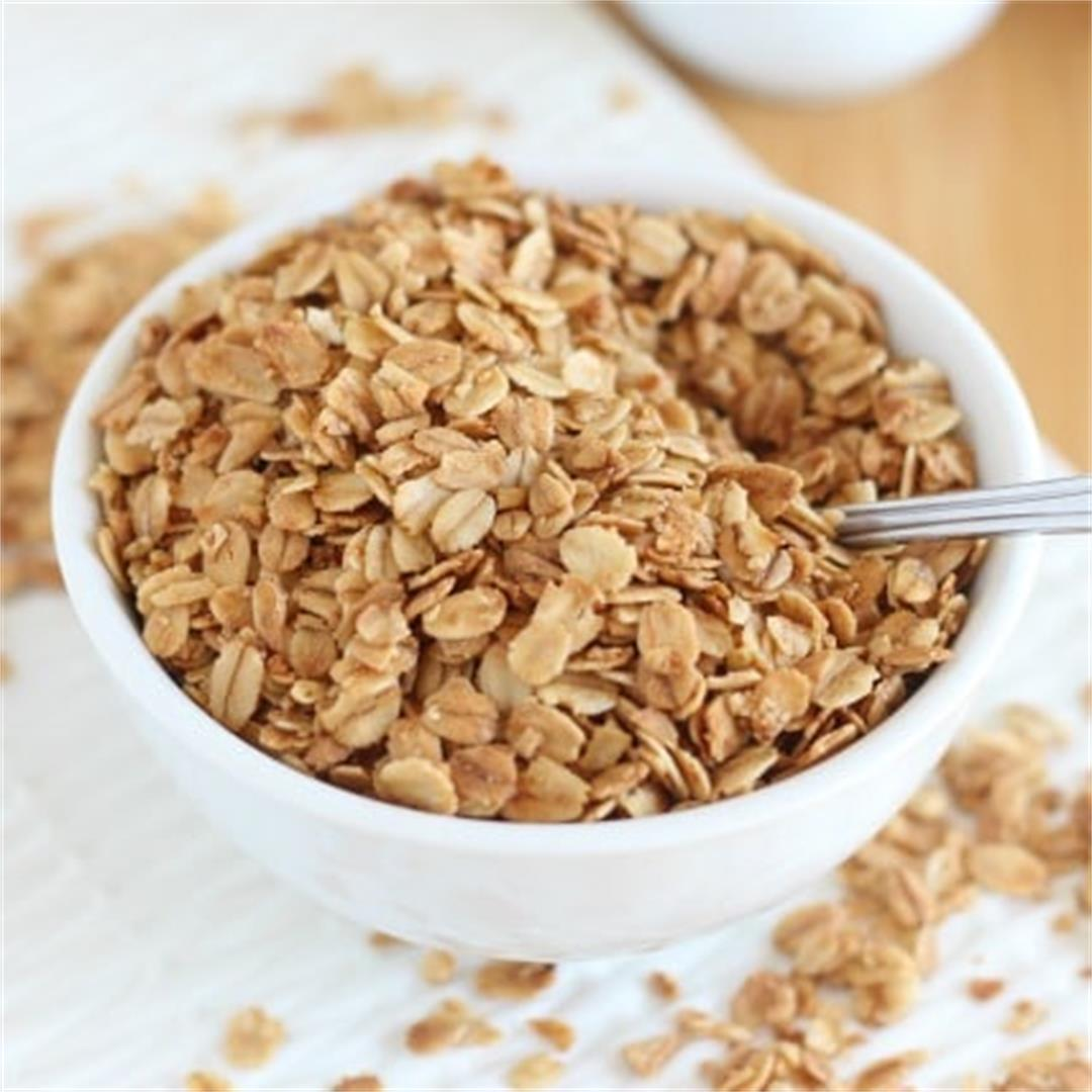 Basic 4-Ingredient Granola