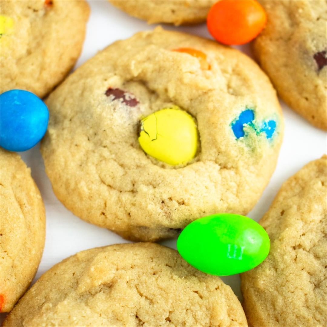 Peanut M & M Cookies